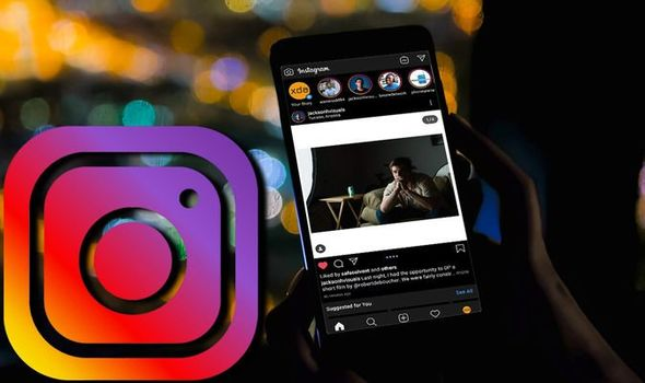 How to get dark mode on instagram android
